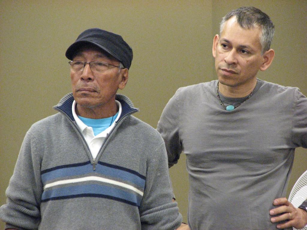 Director José Colman & Assistant Director Alberto Guevara